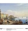 Hafenansicht von Neapel (III von IV). Blick auf den Leuchtturm und den Vesuv