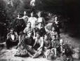 Sächsische Schweiz. Mitglieder eines Kletterklubs