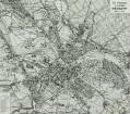 Das Stadtgebiet vom jetzigen Dresden (Stadtplan 1909, Stand von 1906)