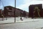 Berlin-Mitte. Hannoversche Straße. Blick zur Ecke Friedrichstraße