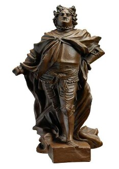 Statuette Augusts des Starken
