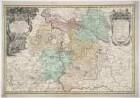 Karte von dem Herzogtum Wohlau, 1:95 000, Kupferstich, 1736