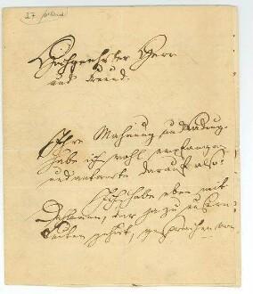 1.Seite des Briefes von Ernst Moritz Arndt