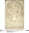 Das Weltgericht. Karton zu den Fresken der Ludwigskirche in München