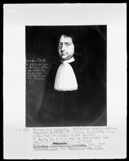 Bildnis des Maximilian Percelli, 1677-1703 Professor der philosophischen Fakultät Marburg (1648-1703)