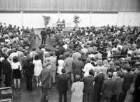 Jungbürgerfeier in der Schwarzwaldhalle mit Teilnahme des Schriftstellers Günter Grass