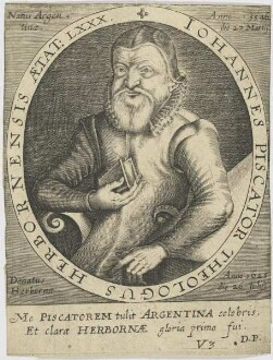 Bildnis des Iohannes Piscator