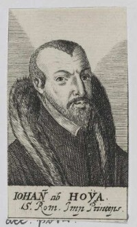 Bildnis des Iohann ab Hoya