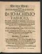 Der letzte Dienst: Welchen Dem Hoch-Ehrwürdigen/ Groß-Achtbahren und Hochgelahrten Hn. Joachimo Fabricio, Der Heil. Schrifft berühmten Doctori und Vor-Pom[m]erschen Vice-Superintendenten ... Da Dessen verblichener Leichnamb den 18. Sept. 1679. ... der Erden anvertrauet wurde/ In Betrübter Schuldigkeit abstatten sollen Joh. Ernst Pfuel/ der Heil. Schrifft Ddus ... jetziger Zeit des hiesigen Paedag. Professor Ordinarius Primarius und Rector