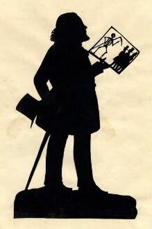 Scherenschnitt, vermutlich von Wilhelm Müller, Provenienz: Lippische Landesbibliothek Detmold, FrS B 30,1, (Dieses Bild darf in der angezeigten Qualität ungefragt nachgenutzt werden)
