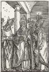 Die drei heiligen Bischöfe Nikolaus, Ulrich und Erasmus