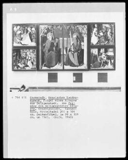 Apostel: Außenseiten der Altarflügel; Szenen aus dem Leben Christi: Innenseiten der Altarflügel