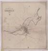 Stadtplan von Döbeln, 1:6 000, Lithographie, 1883