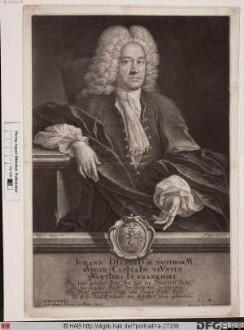 Bildnis Johann Dietrich Notebohm