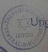 Theosophische Gesellschaft in Leipzig. Theosophische Centralbibliothek / Stempel