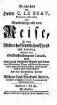 Geschichte des Herrn C. LeBeau, oder merckwürdige und neue Reise zu denen Wilden des nordlichen Theils von America : worinnen man e. Beschreibung von Canada, nebst e. gantz bes. Bericht von denen alten Gebräuchen, Sitten u. Lebens-Arten dererjenigen Wilden ... antrifft ; aus d. Frantz. übers.. 2. (1752). - 363 S. : Ill., Kt.