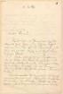 Hermann Levi (1839 - 1900) Nachlass: Briefe von Cosima Wagner an Hermann Levi - BSB Leviana III.7