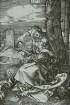 Maria mit der Birne (II. Zustand)