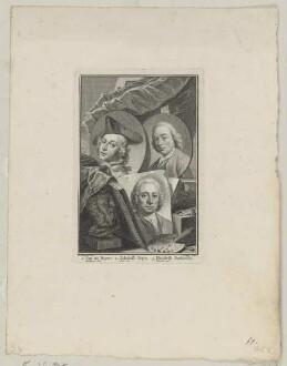 Gruppenbildnis des Jan de Beyer, des Jakobus Buys und des Hendrik Pothoven