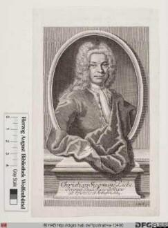 Bildnis Christian Sigismund Liebe