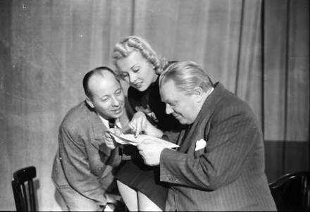 Berlin: Kabarett der Komiker; Peter Igelhoff, Dorit Kreysler, Schaeffers