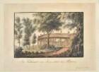 Die Kolonnaden von Schloss Sanssouci von Nordwesten