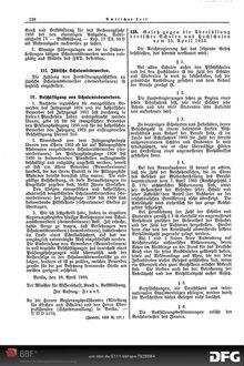Gesetz gegen die Überfüllung deutscher Schulen und Hochschulen vom 25. April 1933: [Amtlicher Teil]