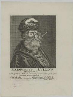 Bildnis des Raimundus Lullius