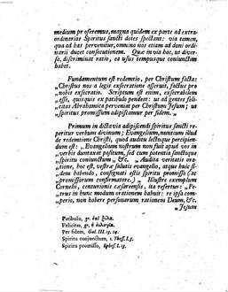 D. Io. Henr. Callenbergii ... commentatio de christologia Iudaica ad Geneseos capitis primi comma secundum in Novo Testamento evoluta