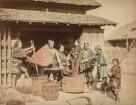Gruppe japanischer Handwerker