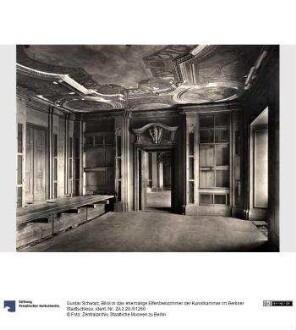 Blick in das ehemalige Elfenbeinzimmer der Kunstkammer im Berliner Stadtschloss