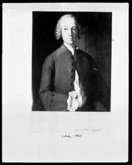 Bildnis des Johann Gottlieb Waldin?, seit 1766 Professor der Philosophie und Mathematik in Marburg (1728-1795)