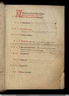 Liber Ordinarius ecclesiae cathedralis Herbipolensis