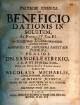 Diatribe Iuridica De Beneficio Dationis In Solutum : Ad Novell. IV. Cap. III.
