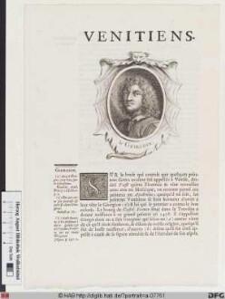 Bildnis Giorgione (da Castelfranco) (eig. Giorgio Barbarelli)