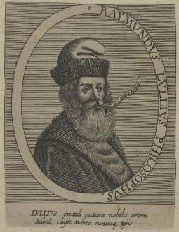 Bildnis des Raymundus Lullius