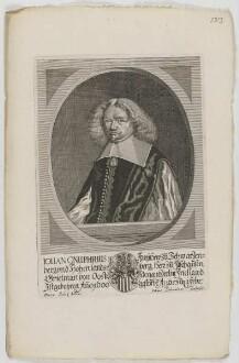 Bildnis des Iohan Onuphrius II., Freiherr zu Schwarzenberg