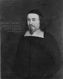 Bildnis des Johannes Hein, 1661-1686 Professor der Theologie in Marburg (1610-1686)