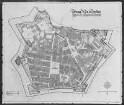 Plan der Festung Neu-Dresden im Zustand von 1721 auf den heutigen Zustand bezogen