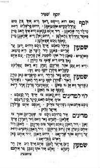Seder mekhirat Yosef shpil : melitsah yeḳarah be-ḥaruzim ṿe-shirim le-śimḥat Bene Yiśrael be-yom ha-Purim = Seyder Mekhires̀ Yoysef shpil = ˜Dieœ Begebenheit von Joseph mit die Brüder