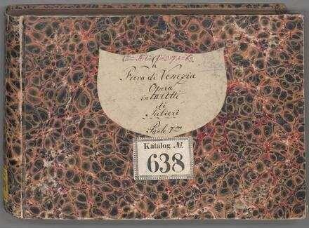 ˜Laœ fiera di Venezia - BSB Mus.ms. 2524
