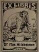 Hilzheimer, Max / Exlibris