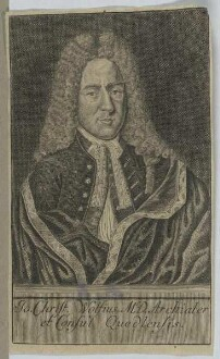 Bildnis des Jo. Christ. Wolfius