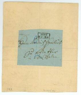 4.Seite des Briefes von Ernst Moritz Arndt