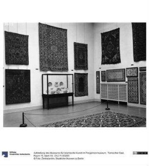 Aufstellung des Museums für Islamische Kunst im Pergamonmuseum, Türkischer Saal, Raum 15