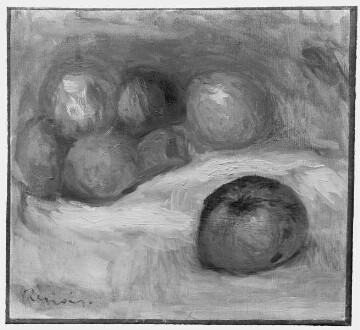 Stilleben mit Äpfeln / Nature morte avec pommes
