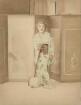 Geisha mit Shamisen