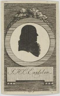 Bildnis des J. H. C. Erxleben