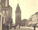 Speyer, Maximilianstraße Richtung Altpörtel.