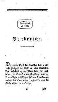 Sämtliche Schriften. 10. (1791). - 366 S.